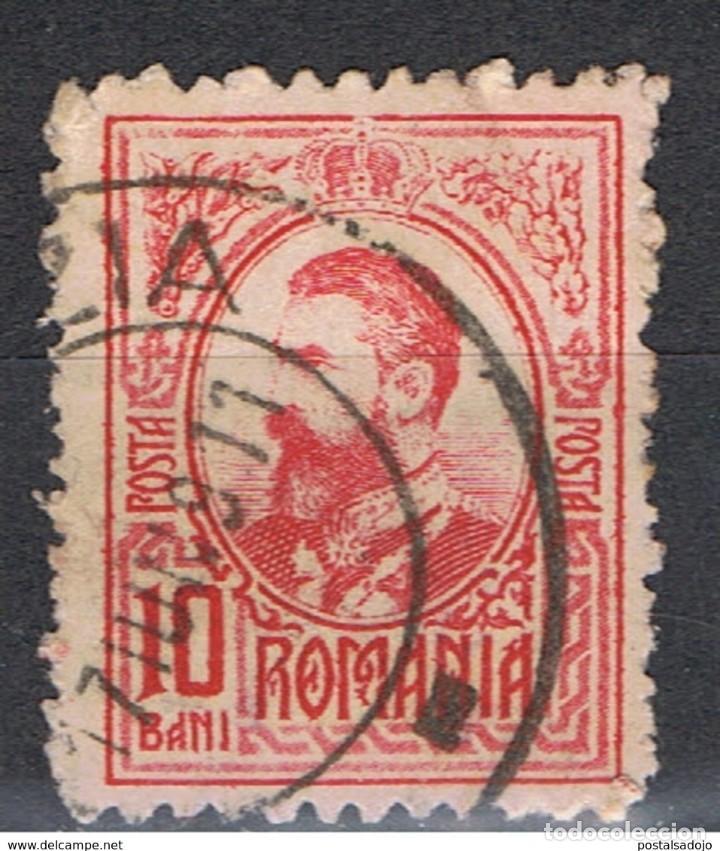 RUMANIA // YVERT 208 // 1907 ... USADO (Sellos - Extranjero - Europa - Rumanía)