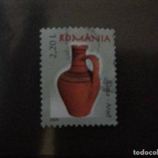 Sellos: RUMANIA 2005. ROMANIAN POTTERY DEFINITIVES 2005. MI:RO 6006,(A294). Lote 209618087