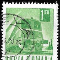 Sellos: RUMANIA 1967. TRANSPORTE Y COMUNICACIÓN. LOCOMOTORA. TRENES. Lote 209772131