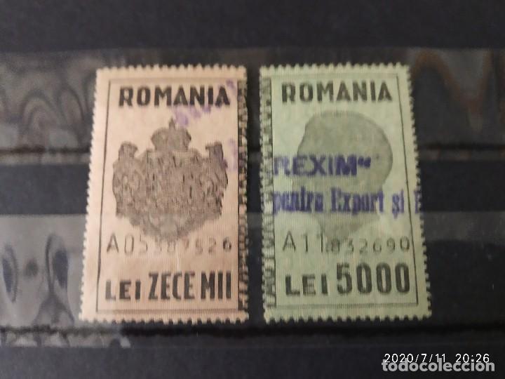 RUMANIA TASAS SEGUNDA GUERRA MUNDIAL WWII. (Sellos - Extranjero - Europa - Rumanía)