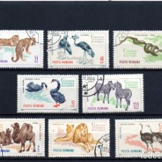 Sellos: ++ RUMANIA / ROMANIA / ROUMANIE AÑO 1964 YVERT NR. 2054/61 USADA ANIMALES SALVAJES. Lote 220746072