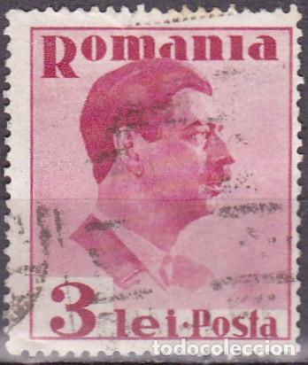 1935 - RUMANIA - REY CARLOS II - YVERT 490 (Sellos - Extranjero - Europa - Rumanía)