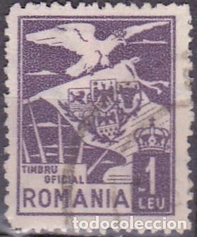 1929 - RUMANIA - SERVICIO OFICIAL - YVERT 3 (Sellos - Extranjero - Europa - Rumanía)