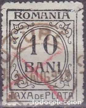 1921 - RUMANIA - TASA - YVERT 58 (Sellos - Extranjero - Europa - Rumanía)