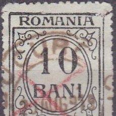 Sellos: 1921 - RUMANIA - TASA - YVERT 58. Lote 222249088