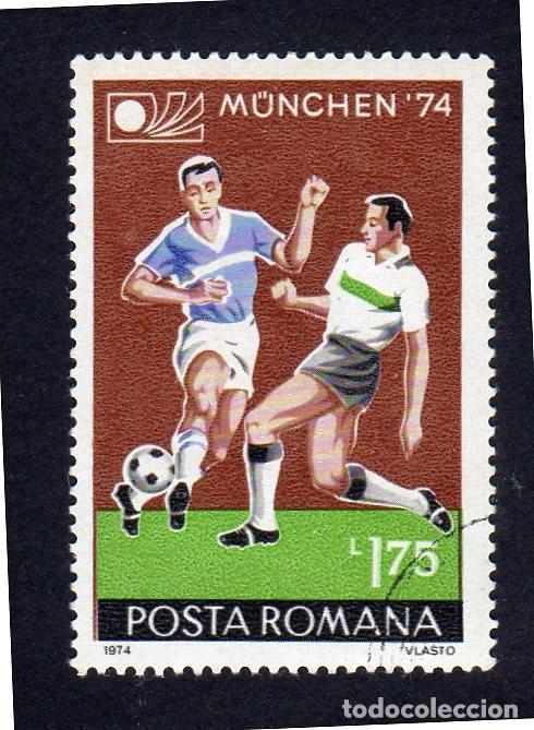 EUROPA. RUMANIA. MUNICH 1974. NUEVOS SIN CHARNELA (Sellos - Extranjero - Europa - Rumanía)