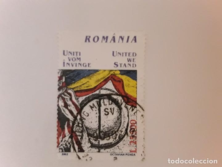 RUMANIA SELLO USADO (Sellos - Extranjero - Europa - Rumanía)