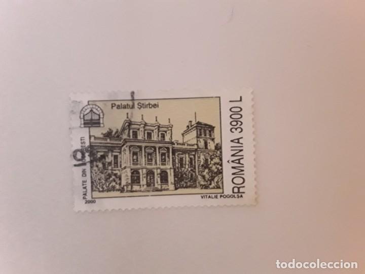 AÑO 2000 RUMANIA SELLO USADO (Sellos - Extranjero - Europa - Rumanía)