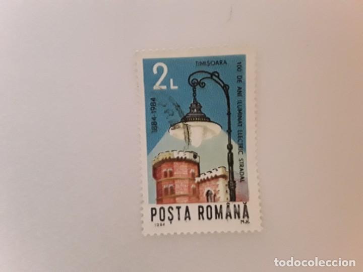 AÑO 1984 RUMANIA SELLO USADO (Sellos - Extranjero - Europa - Rumanía)