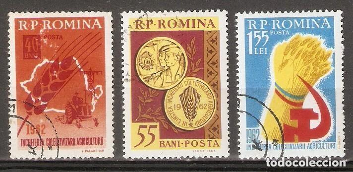 RUMANÍA . 1962. YT 1830/1832 (Sellos - Extranjero - Europa - Rumanía)