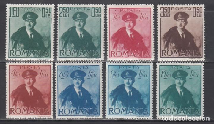 RUMANIA, 1940 YVERT Nº 611 / 618 /*/ (Sellos - Extranjero - Europa - Rumanía)