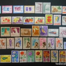 Sellos: RUMANIA-110 SELLOS-AÑOS 1963 A 1966-LOTE 3. Lote 243970175