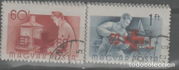 LOTE U-SELLOS HUNGRIA CRUZ ROJA 1957 (Sellos - Extranjero - Europa - Rumanía)