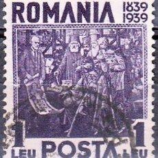 Timbres: 1939 - RUMANIA - CENTENARIO DEL REY CARLOS I - YVERT 554. Lote 247654515