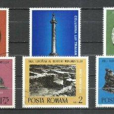 Sellos: RUMANIA - 1975 - MICHEL 3267/3272 - USADO. Lote 256120485
