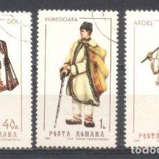 Sellos: RUMANIA, PREOBLITERADOS, CON GOMA. Lote 262788135
