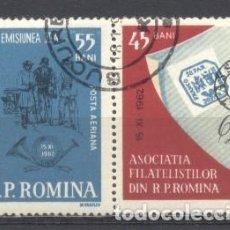 Sellos: RUMANIA, PREOBLITERADOS, CON GOMA. Lote 262799280