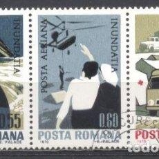 Sellos: RUMANIA, PREOBLITERADOS, CON GOMA. Lote 262799805