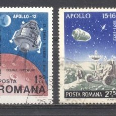 Sellos: RUMANIA, PREOBLITERADOS, CON GOMA,APOLO. Lote 262800315