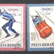 Sellos: RUMANIA, PREOBLITERADOS, CON GOMA,. Lote 262800780