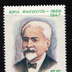 Sellos: RUMANIA 2387** - AÑO 1968 - CENTENARIO DEL NACIMIENTO DEL NATURALISTA EMILE RACOVITA. Lote 276729213