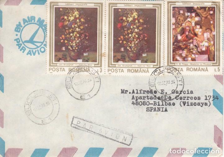 CORREO AEREO: RUMANIA 1990 (Sellos - Extranjero - Europa - Rumanía)