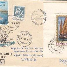 Sellos: CORREO AEREO: RUMANIA 1971. Lote 277422803