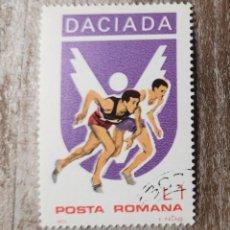 Sellos: SELLO USADO RUMANIA DACIADA (DEPORTES) . AÑO 1978. Lote 278285673