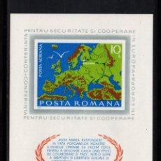 Sellos: RUMANIA HB 121** - AÑO 1975 - CONFERENCIA DE HELSINKI. Lote 284300808