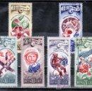 Sellos: RUSIA 4404/9 USADA, ESPACIO, 20º ANIVERSARIO DE LA EPOCA ESPACIAL,. Lote 167597002