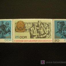 Sellos: ALEMANIA ORIENTAL DDR 1967 IVERT 1019A *** 10 EXPOSICIÓN OFICIOS DEL FUTURO. Lote 19108553