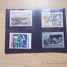Sellos: RUSIA-1962-63-65-69-CON CHARNELA-. Lote 22163978