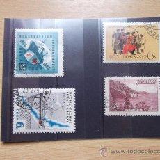 Sellos: RUSIA1959-1963-1966-CON CHARNELA-. Lote 22164004