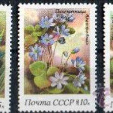 Sellos: RUSIA AÑO 1983 YV 5001/05*** FLORES - FLORA - NATURALEZA. Lote 24391721