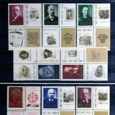 Sellos: ++ RUSIA / UNION SOVIETICA / URSS SERIE COMPLETA AÑO 1970 YVERT NR. 3613/22 NUEVOS LENIN. Lote 28550703