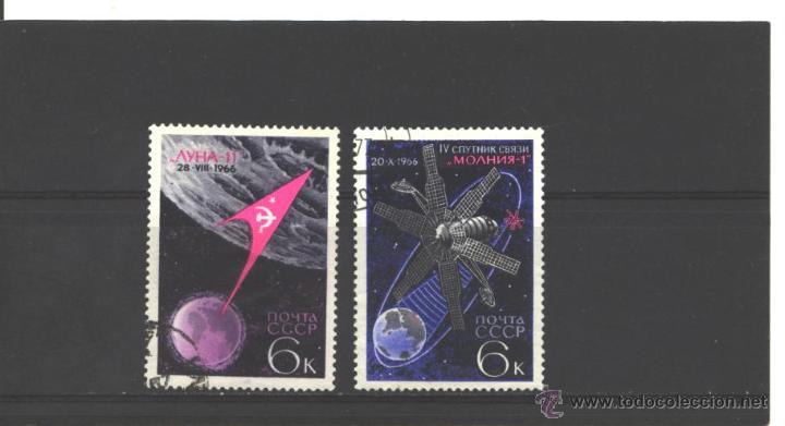 RUSIA 1966 - YVERT NROS. 3188-89 - USADO (Sellos - Extranjero - Europa - Rusia)
