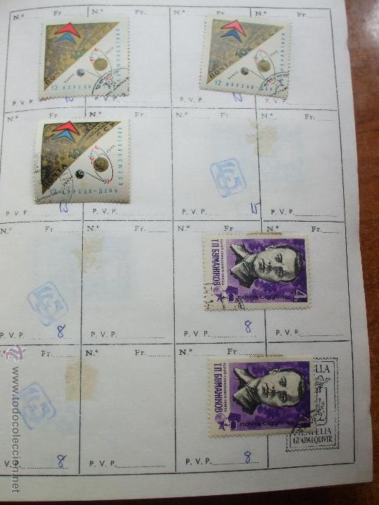 Sellos: .rusia 8 libretas aproximadamente 812 sellos clasificados, diversas calidades + fotos - Foto 3 - 50663116