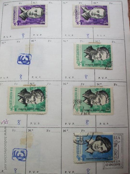 Sellos: .rusia 8 libretas aproximadamente 812 sellos clasificados, diversas calidades + fotos - Foto 4 - 50663116