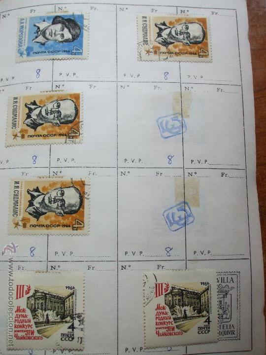 Sellos: .rusia 8 libretas aproximadamente 812 sellos clasificados, diversas calidades + fotos - Foto 5 - 50663116
