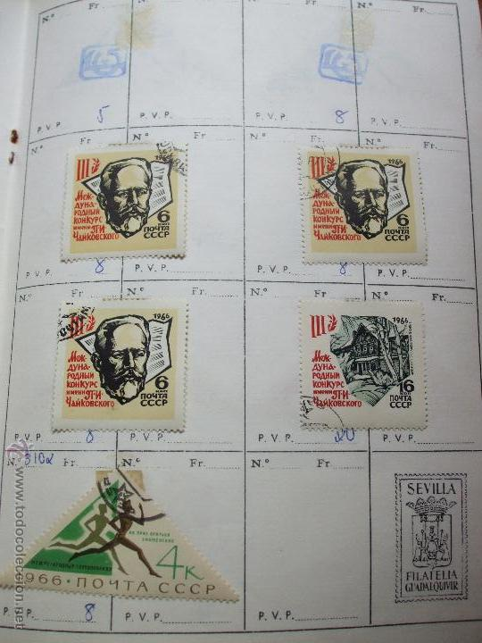 Sellos: .rusia 8 libretas aproximadamente 812 sellos clasificados, diversas calidades + fotos - Foto 6 - 50663116