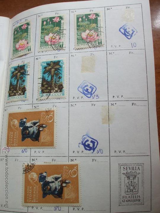 Sellos: .rusia 8 libretas aproximadamente 812 sellos clasificados, diversas calidades + fotos - Foto 8 - 50663116