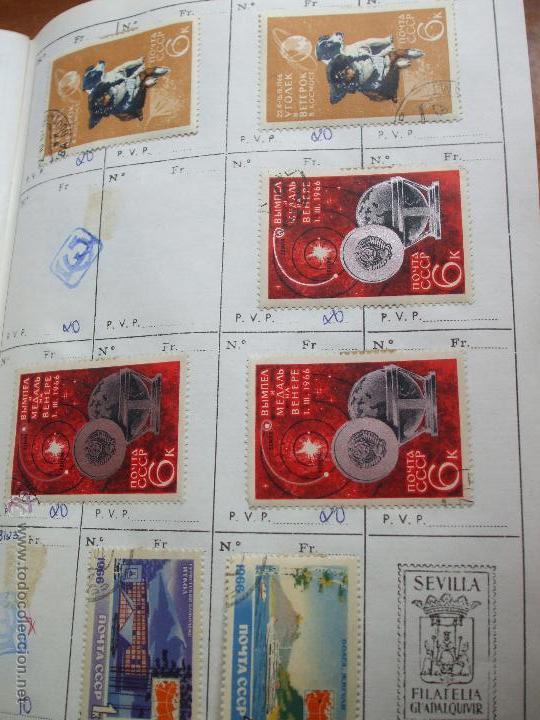 Sellos: .rusia 8 libretas aproximadamente 812 sellos clasificados, diversas calidades + fotos - Foto 9 - 50663116