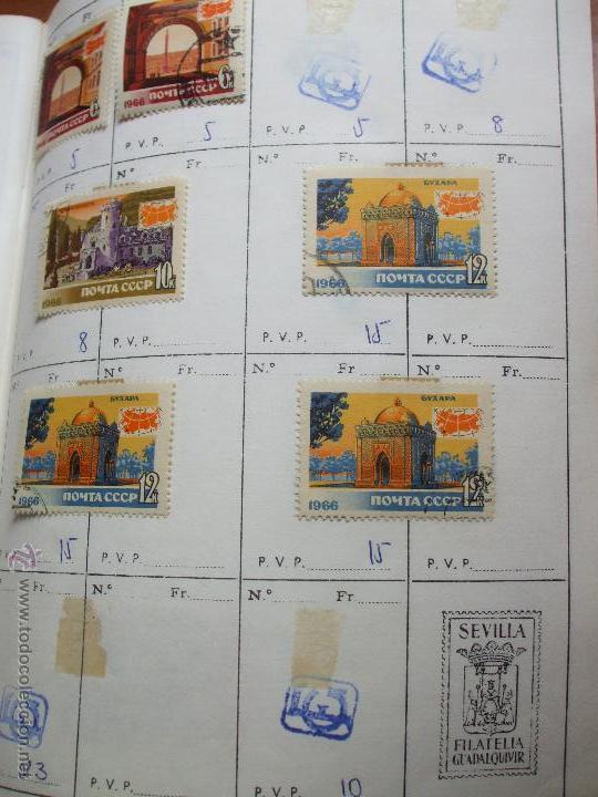 Sellos: .rusia 8 libretas aproximadamente 812 sellos clasificados, diversas calidades + fotos - Foto 10 - 50663116