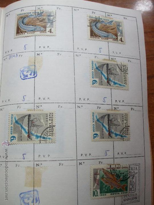 Sellos: .rusia 8 libretas aproximadamente 812 sellos clasificados, diversas calidades + fotos - Foto 11 - 50663116