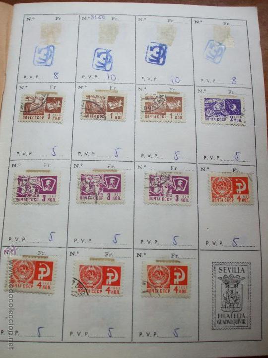 Sellos: .rusia 8 libretas aproximadamente 812 sellos clasificados, diversas calidades + fotos - Foto 12 - 50663116