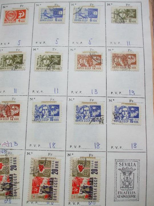 Sellos: .rusia 8 libretas aproximadamente 812 sellos clasificados, diversas calidades + fotos - Foto 13 - 50663116