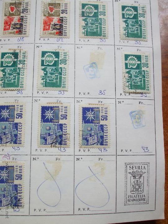Sellos: .rusia 8 libretas aproximadamente 812 sellos clasificados, diversas calidades + fotos - Foto 14 - 50663116