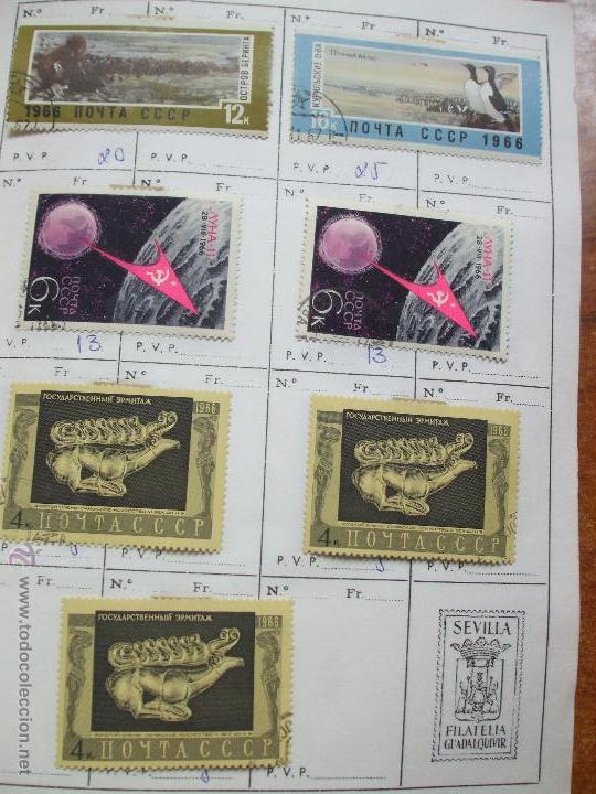 Sellos: .rusia 8 libretas aproximadamente 812 sellos clasificados, diversas calidades + fotos - Foto 16 - 50663116