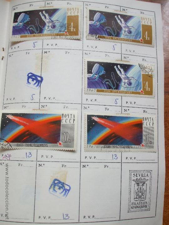 Sellos: .rusia 8 libretas aproximadamente 812 sellos clasificados, diversas calidades + fotos - Foto 17 - 50663116