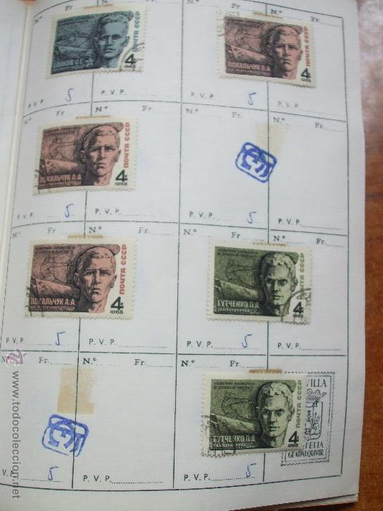 Sellos: .rusia 8 libretas aproximadamente 812 sellos clasificados, diversas calidades + fotos - Foto 18 - 50663116